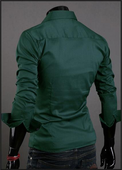 Модная дизайнерская рубашка для мужчин  - 5