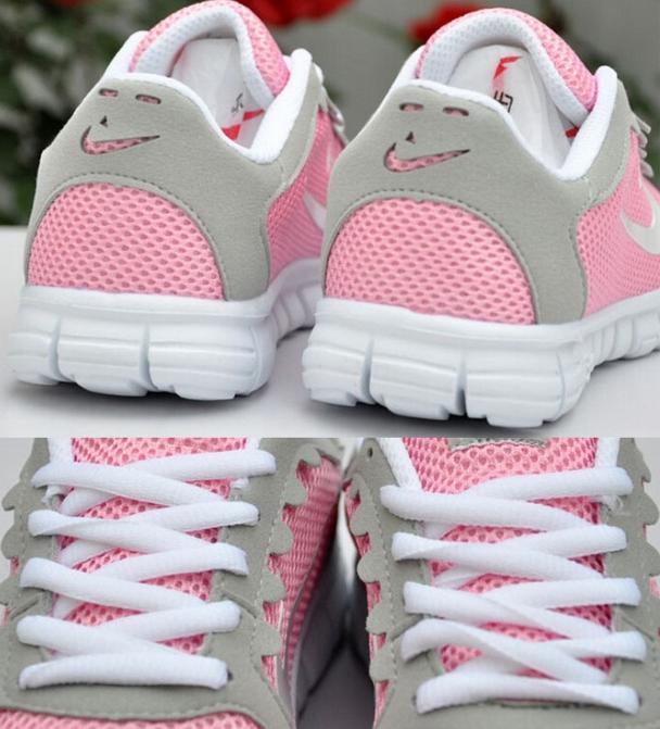 Спортивные дышащие кроссовки для женщин  - 6