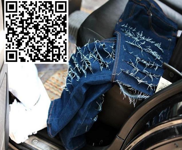 Узкие стильные джинсы для мужчин - 3