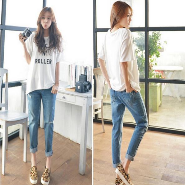 Приталенные джинсы для девушек  - 1