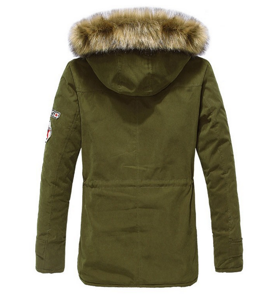 Мужские модные парки, меховая модная куртка  - 2