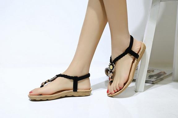 Новые стильные сандали для женщин - 9