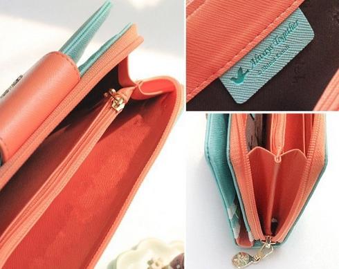 Новый качественный кошелёк для женщин   - 8
