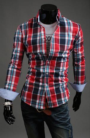 Модная мужская рубашка для мужчин - 9