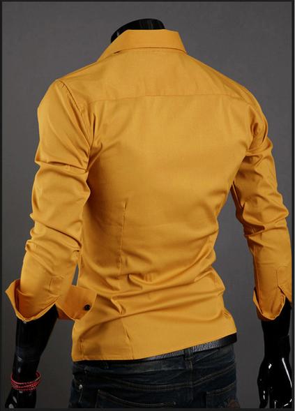 Модная дизайнерская рубашка для мужчин  - 1