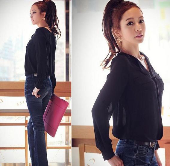 Стильная женская рубашка  - 2