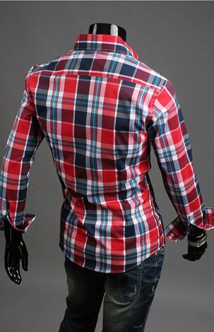 Модная мужская рубашка для мужчин - 10
