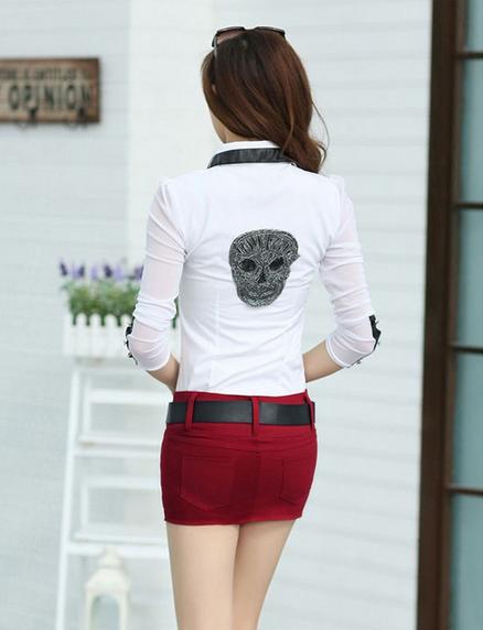 Джинсовая юбка, короткая юбка - 1