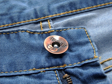 Мужские свободные джинсы  - 5