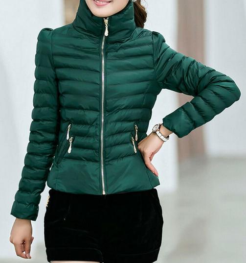 Тонкая тёплая куртка для женщин  - 2