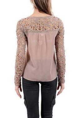 Кружевная рубашка для женщин  - 2