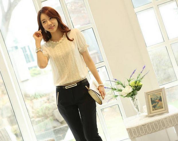 Офисные брюки для женщин - 11