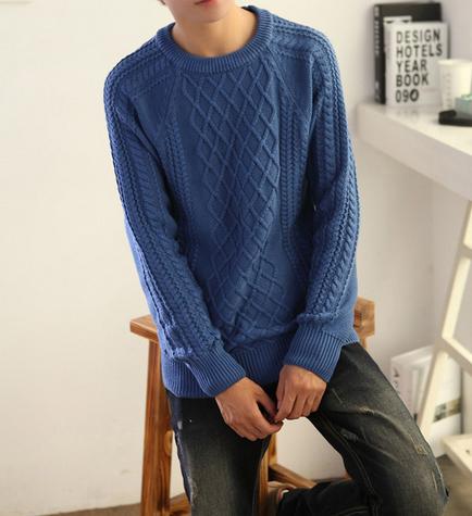 Модный мужской свитер для стильных мужчин  - 6
