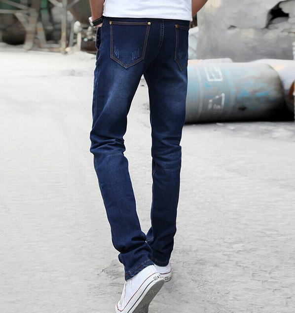 Модные повседневные джинсы для мужчин  - 4