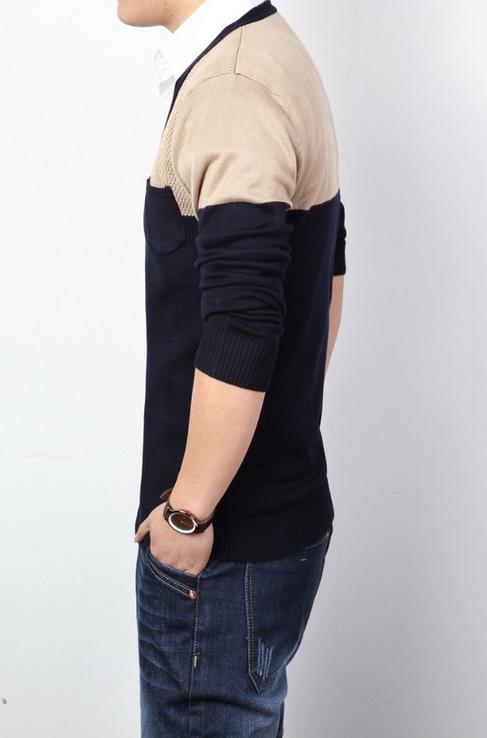 Тёплый мужской свитер для мужчин  - 3