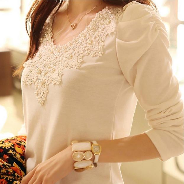 Милая элегантная блузка для женщин  - 1