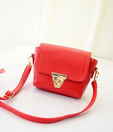 Маленькая сумка посыльного сумка через плечо для женщин - 4