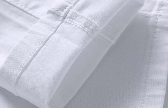 Белые узкие джинсы для мужчин - 8