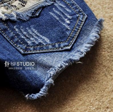 Модные джинсовые шорты для женщин  - 3