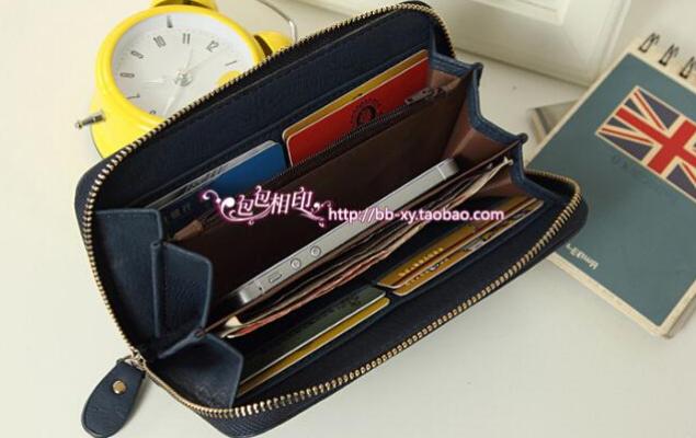 Модный дизайнерский кошелёк для женщин  - 12