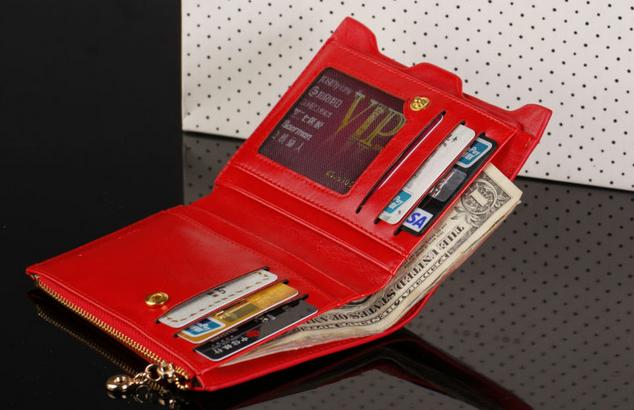 Модный тонкий кошелёк для женщин  - 4