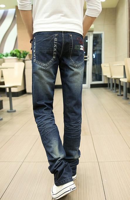 Мужские свободные джинсы для мужчин  - 5