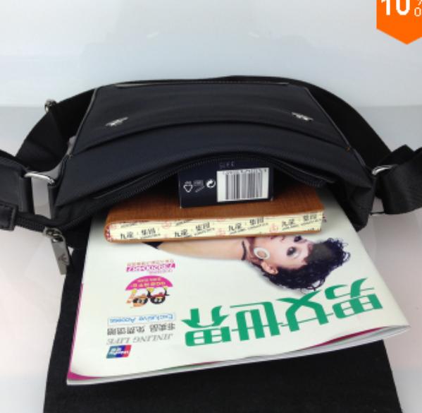 Мужская модная сумка через плечо  - 1