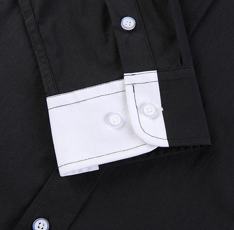 Тонкая стильная рубашка для мужчин  - 7