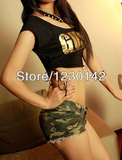 Сексуальные женские шорты с низкой талией, модные шорты  - 1