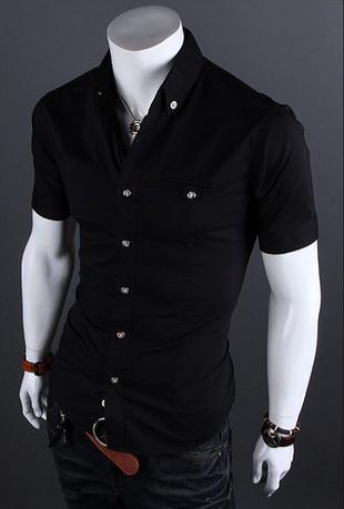 Европейский стиль, модная рубашка  - 9