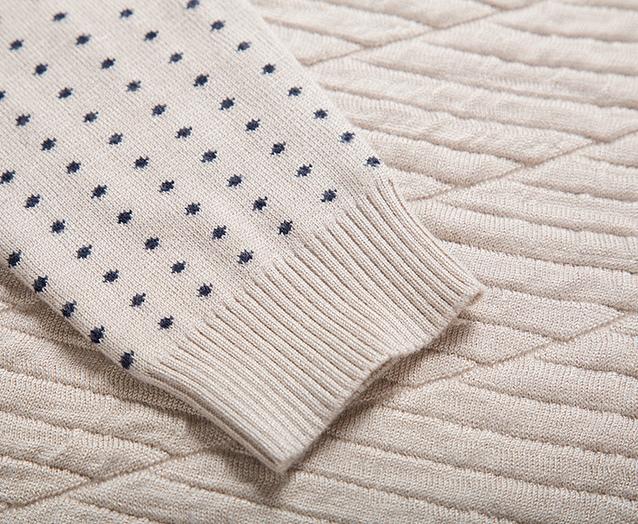 Осень и зима мода, мужской свитер  - 12