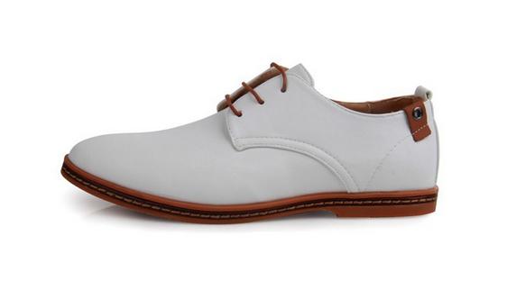 Модные кожанные туфли для мужчин  - 3