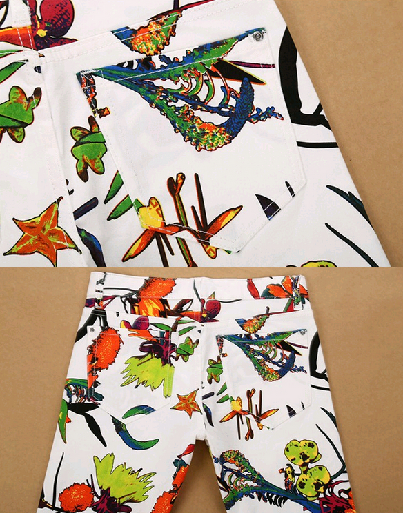 Летние стильные джинсы для мужчин  - 4