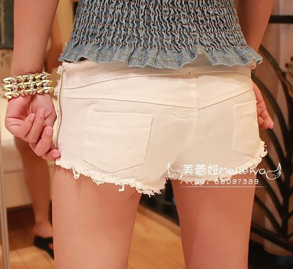 Сексуальные шорты с низкой талией для девушек  - 4
