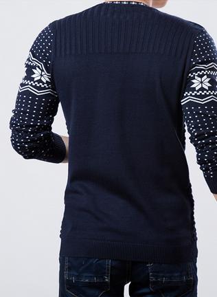 Осень и зима мода, мужской свитер  - 2