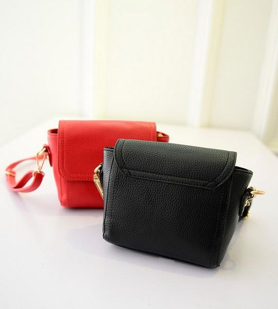 Маленькая сумка посыльного сумка через плечо для женщин - 6