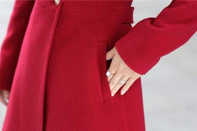 Новая зимняя осень, женское пальто  - 6