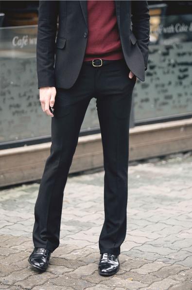 Мужские свободные тонкие брюки   - 6