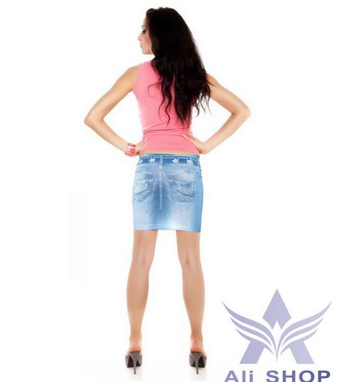 Saia Femininas джинсовые юбки для женщин - 1