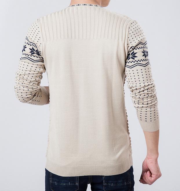 Осень и зима мода, мужской свитер  - 8