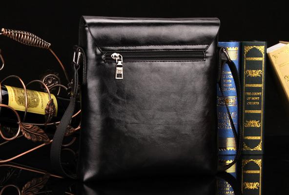 Модная брендовая сумка через плечо для мужчин  - 6