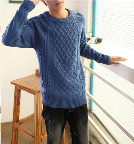 Модный мужской свитер для стильных мужчин  - 7