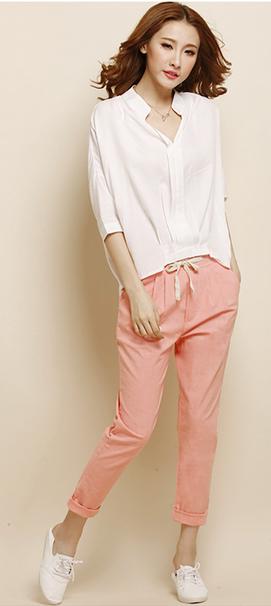 Женские брюки шаровары  - 1