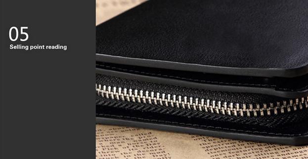 Стильный кошелёк для мужчин - 11