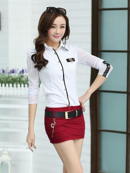 Джинсовая юбка, короткая юбка - 2