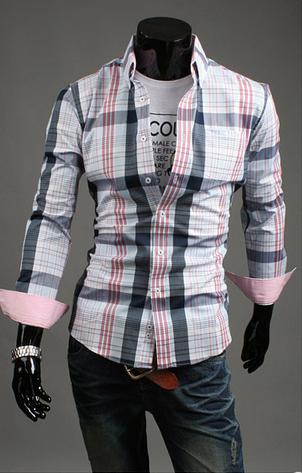 Модная мужская рубашка для мужчин - 8
