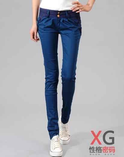 Свободные брюки карандаш для женщин - 2
