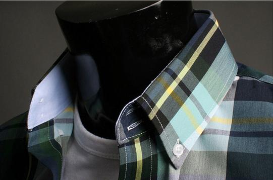 Модная мужская рубашка для мужчин - 12