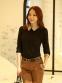 Новая блузка с воротником для стильных женщин  - 10