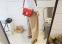 Маленькая сумка посыльного сумка через плечо для женщин - 12